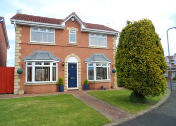 Thumbnail 4 bed detached house for sale in Chiltern Close, Ashington
