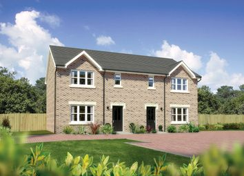 "Thumbnail 3 bed semi-detached house for sale in ""Caplewood"" at Letham Views, 9 Holme Avenue, Haddington"