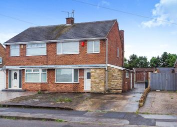 Thumbnail 3 bed semi-detached house for sale in Shortwood Avenue, Hucknall, Nottingham