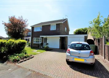 Thumbnail 3 bed detached house for sale in Cappitt Drive, Thurlby, Bourne