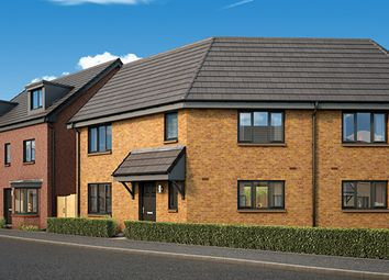 "Thumbnail 3 bedroom semi-detached house for sale in ""The Stirling"" at Panmure Street, Glasgow"