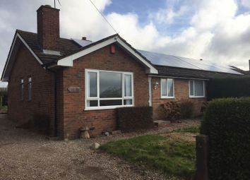 Thumbnail 3 bed semi-detached bungalow to rent in Slindon, Near Eccleshall, Staffordshire