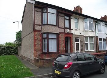 Thumbnail 3 bed end terrace house to rent in Kempton Road, New Ferry