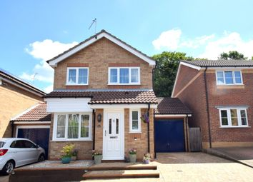 Thumbnail 3 bedroom detached house for sale in Sheerwater Close, Bury St Edmunds, Suffolk