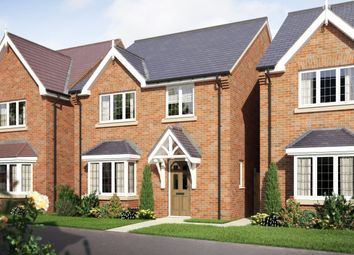 Thumbnail 4 bed detached house for sale in The Lullington At Oaklands Park, Wyaston Road, Ashbourne