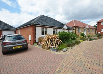 Thumbnail 2 bed detached bungalow for sale in Glebe Drive, Roydon, Diss