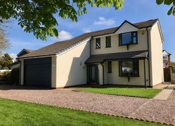 Thumbnail 4 bed detached house for sale in Church Lane, Farington Moss, Leyland