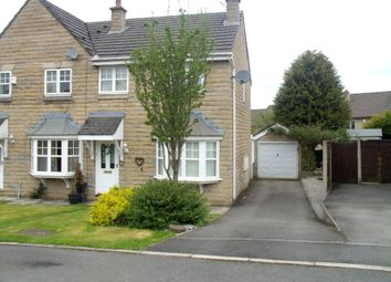 Thumbnail 3 bed semi-detached house for sale in Torside Way, Hadfield