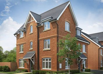 "Thumbnail 3 bedroom semi-detached house for sale in ""Brentwood"" at Gold Furlong, Marston Moretaine, Bedford"
