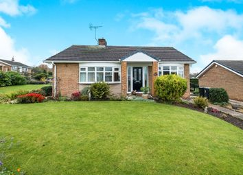 Thumbnail 2 bed detached bungalow for sale in Grange Avenue, Woodsetts, Worksop