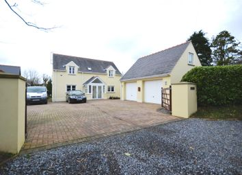 Thumbnail 4 bed detached house for sale in Castle Pill Road, Steynton, Milford Haven