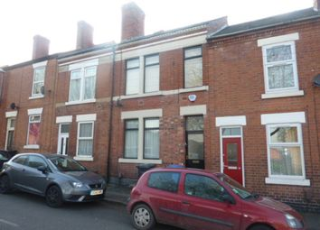 Thumbnail 4 bedroom shared accommodation to rent in Upper Boundary Road, Derby