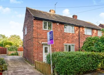 Thumbnail 3 bed semi-detached house for sale in Warren Road, Thorne, Doncaster