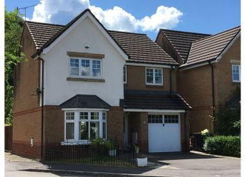 Thumbnail 4 bed detached house for sale in Ffordd Yr Afon, Cardiff