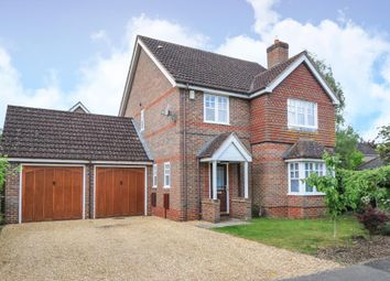 Thumbnail 4 bed detached house to rent in Aldermaston, Berkshire