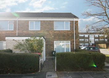 Thumbnail 3 bed end terrace house for sale in Dedisham Close, Furnace Green, Crawley, West Sussex.