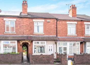 Thumbnail 3 bed terraced house for sale in Newtown Road, Bedworth, Warwickshire