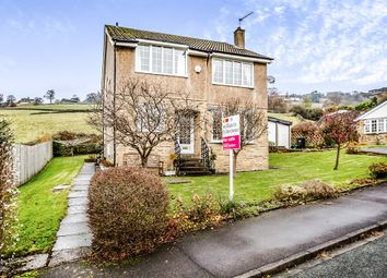 Thumbnail 4 bed detached house for sale in Lee Clough Drive, Mytholmroyd, Hebden Bridge
