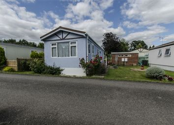 Thumbnail 2 bed mobile/park home for sale in Avondale Park, Colden Common, Winchester, Hampshire