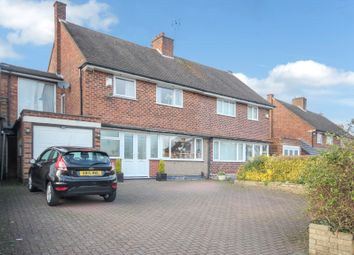 Thumbnail 4 bed semi-detached house for sale in Old Lode Lane, Solihull