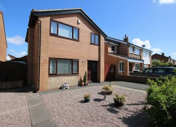 Thumbnail 4 bed detached house for sale in Barnfield, Much Hoole, Preston