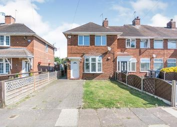 Thumbnail 2 bed end terrace house for sale in Oakcroft Road, Billesley, Birmingham, West Midlands