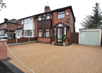 Thumbnail 3 bed semi-detached house for sale in Taunton Grove, Whitefield, Manchester, Greater Manchester
