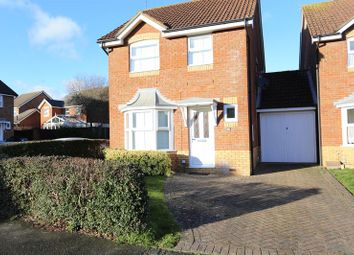 Thumbnail 3 bed detached house to rent in Constable Close, Woodley, Reading