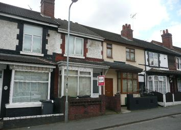 Thumbnail 2 bed terraced house to rent in Ashley Street, Wolverhampton