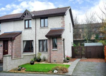 Thumbnail 2 bed semi-detached house to rent in Davidson Place, Inverurie