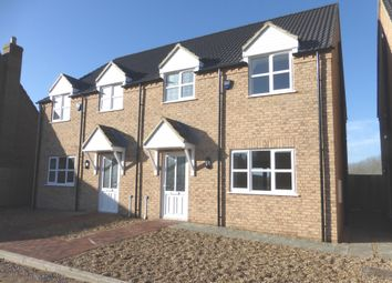 Thumbnail 3 bed semi-detached house for sale in Pinglewood Row, Manea, March