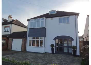 Thumbnail 3 bed detached house for sale in Stanley Road, Hornchurch
