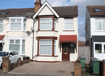 Thumbnail 3 bedroom end terrace house for sale in Hall Lane, London
