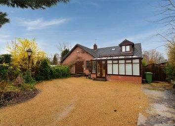 Thumbnail 4 bed detached bungalow for sale in Ollershaw Lane, Marston, Northwich, Cheshire
