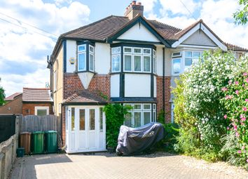 Thumbnail 4 bed semi-detached house to rent in Worple Road, Staines