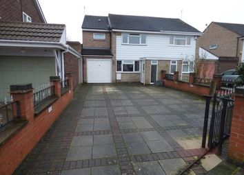 Thumbnail 3 bed semi-detached house for sale in Badminton Road, Leicester