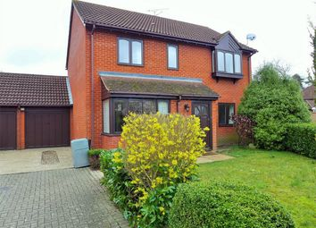 Thumbnail 4 bed detached house to rent in Theobalds Way, Frimley, Camberley