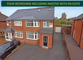 4 bed semi-detached house for sale in Parkstone Road, Off Scraptoft Lane, Leicester LE5