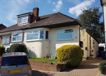 Thumbnail 3 bed semi-detached bungalow to rent in Grants Close, London