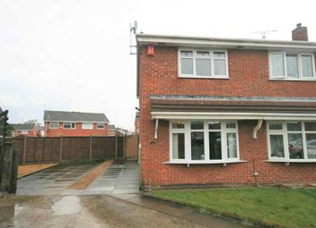 Thumbnail 2 bed semi-detached house for sale in Malory Close, Crewe