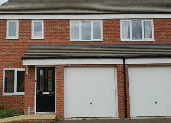 Thumbnail 3 bed semi-detached house for sale in Saxonbury Way, Hampton Hempsted, Peterborough, Cambridgeshire