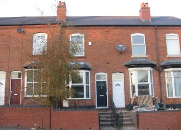 Thumbnail 4 bedroom terraced house to rent in Wellington Road, Perry Barr, Birmingham