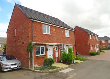Thumbnail 2 bed semi-detached house for sale in Pandora Drive, Cardea, Peterborough