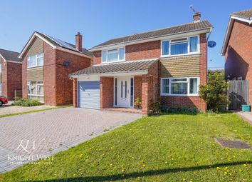 Thumbnail 4 bed detached house for sale in Hawlmark End, Marks Tey, Colchester