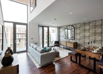 Thumbnail 4 bed flat for sale in Kilburn Quarter - East Block, Flat 13, 100 Kilburn Park Road