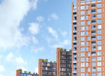 Thumbnail 1 bed flat for sale in Orchard Wharf, Silvocea Way, London