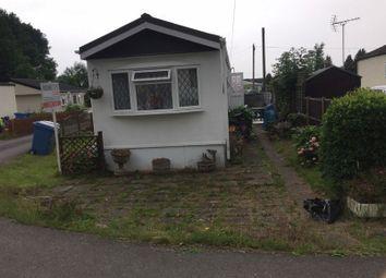 Thumbnail 2 bedroom mobile/park home for sale in Broadway, Cranbourne Hall, Winkfield, Windsor