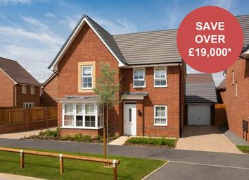 "Thumbnail 4 bedroom detached house for sale in ""Cambridge"" at Weddington Road, Nuneaton"