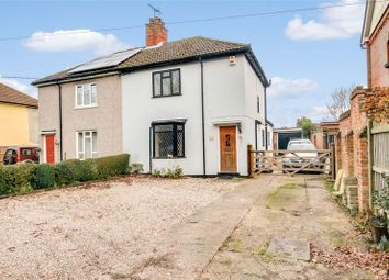 Thumbnail 2 bed semi-detached house for sale in Straight Road, Boxted, Colchester