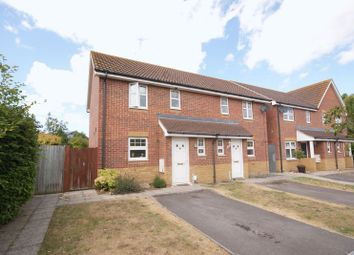 Thumbnail 2 bed semi-detached house for sale in Holt Close, Lee-On-The-Solent
